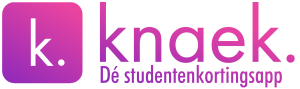 Knaek - dé studentenkortingsapp